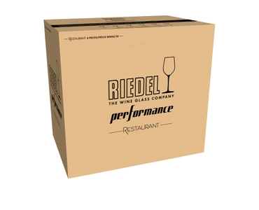 RIEDEL Performance Restaurant Champagne in the packaging