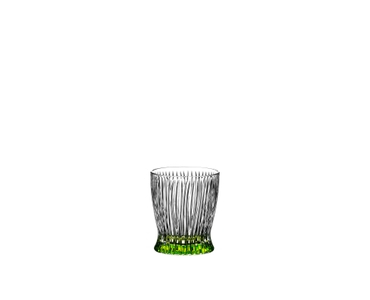 RIEDEL Tumbler Collection Fire Whisky Spring Green on a white background