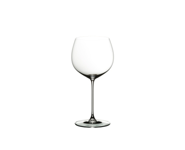 RIEDEL Veritas Oaked Chardonnay on a white background