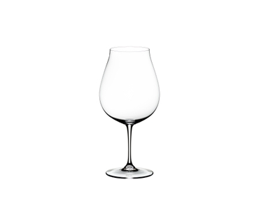 RIEDEL Vinum New World Pinot Noir on a white background