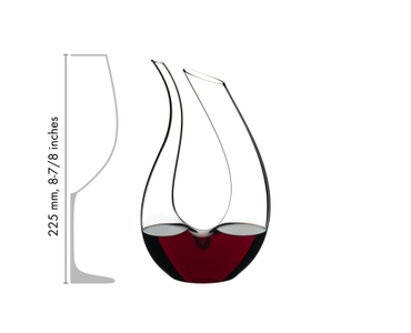 RIEDEL Decanter Amadeo Mini in relation to another product
