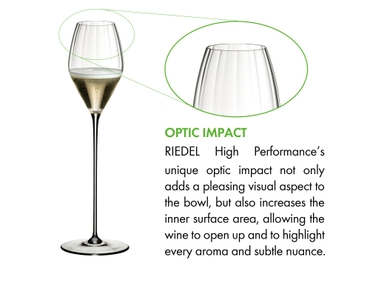 RIEDEL High Performance Champagne Glass Clear a11y.alt.product.optic_impact
