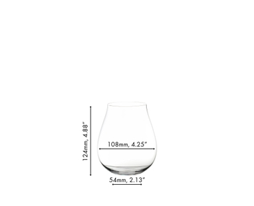 A decorated gin cocktail served in a RIEDEL Gin Glass on white background