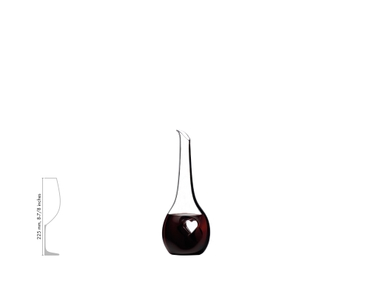 RIEDEL Decanter Black Tie Bliss a11y.alt.product.filled_white_relation