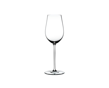 RIEDEL Fatto A Mano Riesling/Zinfandel White R.Q. on a white background