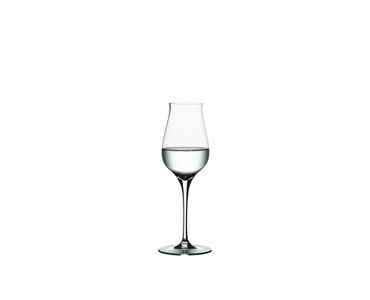 SPIEGELAU Authentis Digestive filled with a drink on a white background