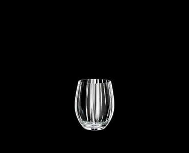RIEDEL Tumbler Collection Optical O Long Drink on a black background