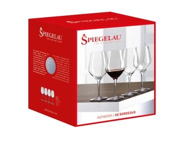 SPIEGELAU Authentis Bordeaux in the packaging