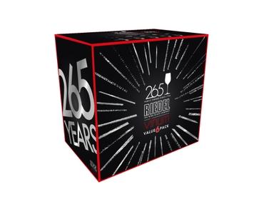 RIEDEL Vinum Riesling Grand Cru/Zinfandel 265 years anniversary value 6-pack sales packaging