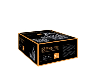 NACHTMANN Noblesse Whisky Set in the packaging