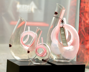RIEDEL Decanter Curly Pink sales packaging