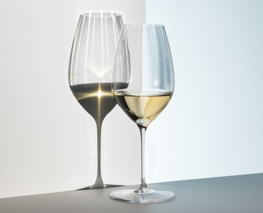Sample packaging of a RIEDEL Performance Riesling two pack