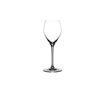 RIEDEL Heart To Heart Champagne Glass filled with Champagne on white background