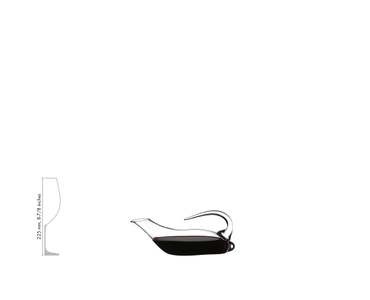 RIEDEL Dekanter Duck a11y.alt.product.filled_white_relation