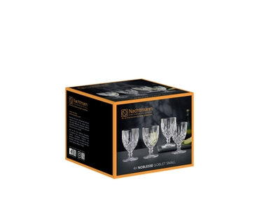 NACHTMANN Noblesse Goblet Small Set/4 in the packaging