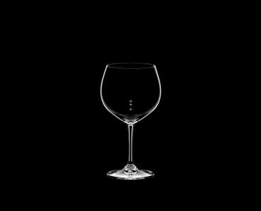 RIEDEL Restaurant Oaked Chardonnay Pour Line OZ on a black background