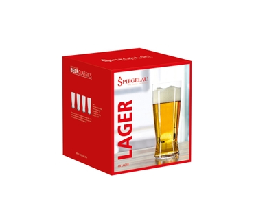 SPIEGELAU Beer Classics Lager in the packaging
