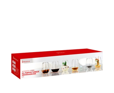 SPIEGELAU Authentis Casual All Purpose Tumbler in the packaging
