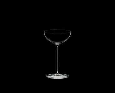 RIEDEL Superleggero Coupe/Cocktail on a black background