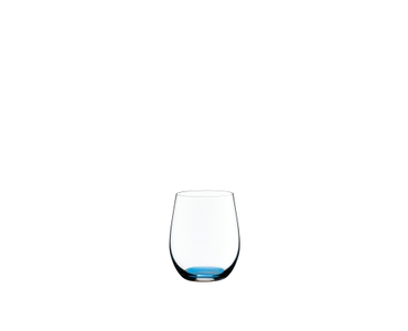 RIEDEL Restaurant O Happy O Azure-Blue on a white background
