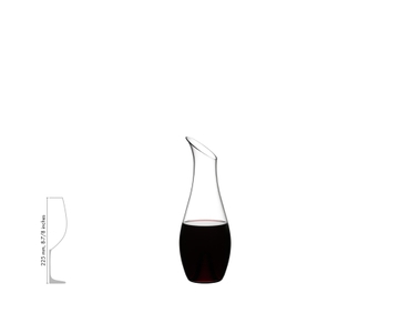 RIEDEL Decanter O Magnum a11y.alt.product.filled_white_relation