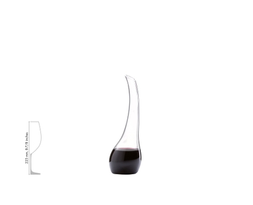 RIEDEL Decanter Cornetto Magnum a11y.alt.product.filled_white_relation