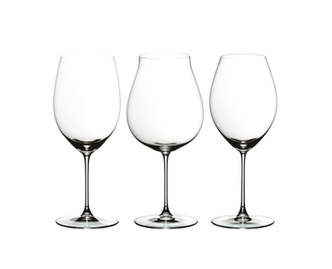 RIEDEL Veritas Red Wine Tasting Set on a white background