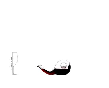 RIEDEL Decanter Escargot a11y.alt.product.filled_white_relation