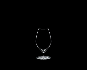 RIEDEL Veritas Beer on a black background