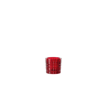 NACHTMANN Square Votive red on a white background
