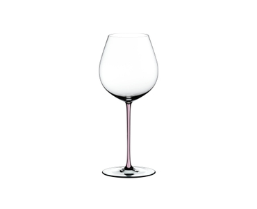 RIEDEL Fatto A Mano Pinot Noir Pink on a white background