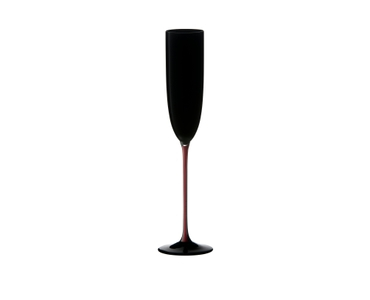 RIEDEL Black Series Collector's Edition Sparkling Wine Black/Red/Black on a white background