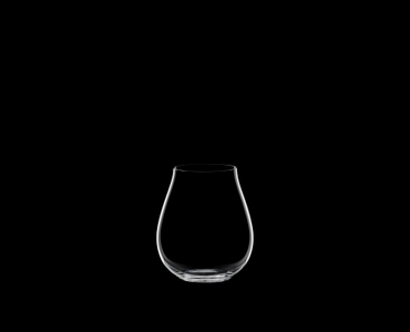 RIEDEL Restaurant O Pinot Noir on a black background