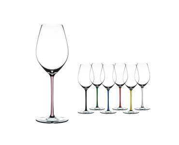 RIEDEL Fatto A Mano Champagne Wine Glass Pink a11y.alt.product.colours