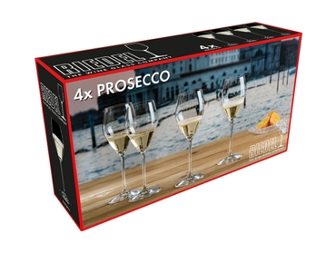 RIEDEL Prosecco Set in the packaging
