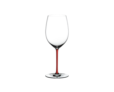 RIEDEL Fatto A Mano R.Q. Cabernet/Merlot Red on a white background