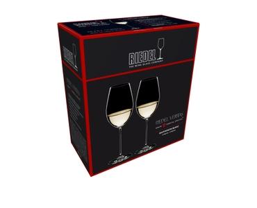 Sales packaging of a RIEDEL Veritas Sauvignon Blanc two pack