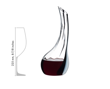 RIEDEL Decanter Cornetto Single Fatto A Mano in relation to another product