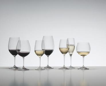 Sample packaging of a RIEDEL Vinum Viognier/Chardonnay Value 6-Pack
