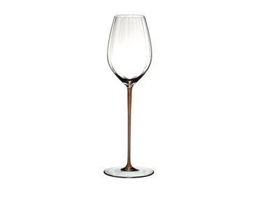 RIEDEL High Performance Riesling Gold on a white background