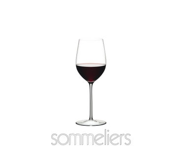 Sample packaging of a RIEDEL Sommeliers Mature Bordeaux/Chablis/Chardonnay single pack