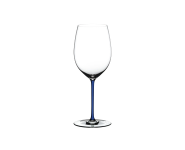RIEDEL Fatto A Mano R.Q. Cabernet/Merlot Dark Blue on a white background