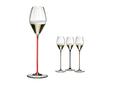 RIEDEL High Performance Champagne Glass Red a11y.alt.product.colours