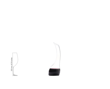 RIEDEL Decanter Cornetto Single a11y.alt.product.filled_white_relation