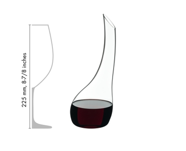 RIEDEL Decanter Cornetto Mini in relation to another product