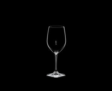 RIEDEL Restaurant Viognier/Chardonnay Pour Line ML on a black background