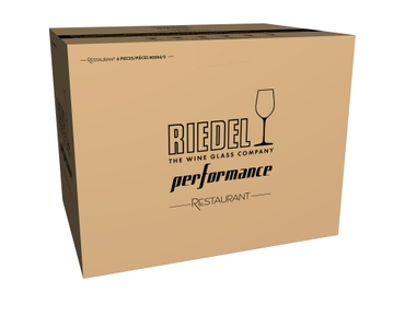 RIEDEL Performance Restaurant Cabernet in the packaging