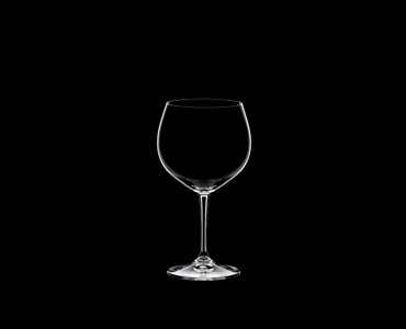 RIEDEL Restaurant Oaked Chardonnay on a black background