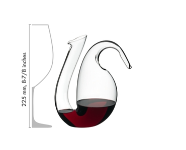 RIEDEL Decanter Ayam Mini in relation to another product
