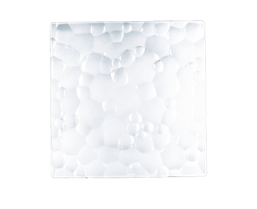NACHTMANN Sphere Plate square (28 cm / 11 in) on a white background